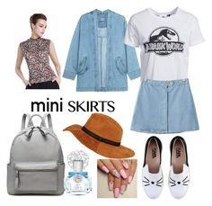 """""""Mini Skirt"""" by lilysilk ❤ liked on Polyvore featuring Steve J & Yoni P, New Look, Chicnova Fashion, Karl Lagerfeld and Vince Camuto"""