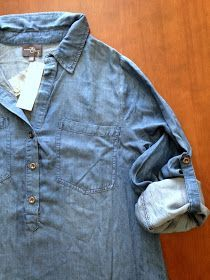 How to wear a denim shirt 21 different ways | THE REFINERY - navy ...