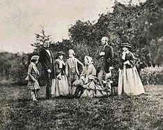 Queen Victoria and family on a picnic at Balmoral
