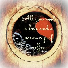 Living the Chaotic Life: All you need is love and a warm cup of coffee. Coffee Talk, Coffee Is Life, I Love Coffee, Best Coffee, Coffee Snobs, Coffee Drinks, Coffee Cups, Coffee Coffee, Coffee Lovers