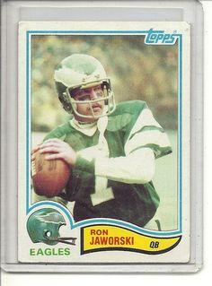 c4e961d711d (b-30) 1982 Topps Football  447  Ron Jaworski