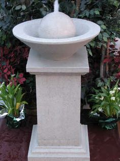 frank lloyd wright fountain   Prices do not include shipping - Please email us for a quote