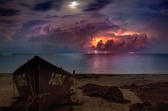 Romania - June 2016 Spectacular Lightnings in Black Sea! View from Constanta two hours ago! Photo - Irina Rosca Thanks Caciulat Ramiro for report Thunder And Lightning, Sea Photo, Black Sea, Long Exposure, Romania, Exposure Photography, Sunset, Outdoor, Facebook