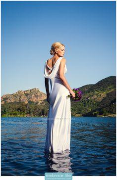 Trash the Dress Photography, Los Angeles    Lake Sherwood Wedding Photographer    Photographer: Adam George- Embrace Life       Hair & Makeup: www.facebook.com/scmakeupteam