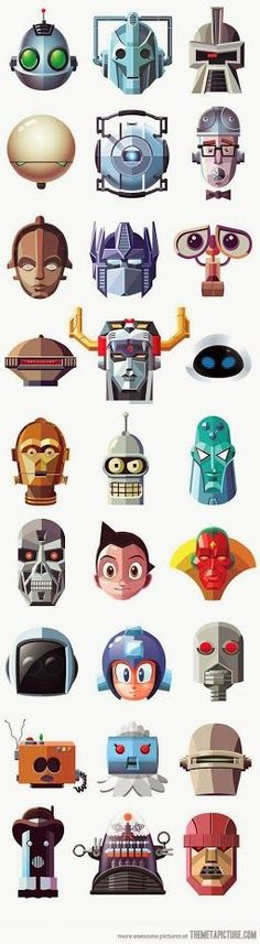 #Robots #Geek #Movies #Future #Entertainment