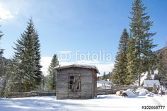 #Little #Shack In The #Nocky #Mountains Of #Carinthia #Austria In #Winter @fotolia #fotolia @fotoliaDE #nature #landscape #winter #season #panorama #bluesky #colorful #holidays #travel #vacation #sightseeing #mountains #outdoor #view #wonderful #beautiful #stock #photo #portfolio #download #hires #royaltyfree