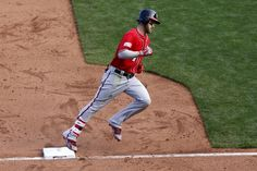 Washington Nationals left fielder Bryce Harper