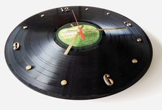 THE BEATLES Record Clock The White Album by RecordsAndStuff, $28.00