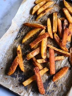Perfect homemade oven fries where the tender, evenly cooked, starchy insides of the fries contrast the crisped, pan-blistered outsides. Making Baked Potatoes, Making Gnocchi, Feel Good Food, Masala Recipe, Curry Paste, Fries In The Oven, Vegetable Sides, Kitchen Recipes, Snacks