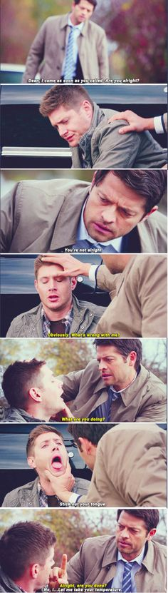 Supernatural 11x10 The Devil in the Details // Cas & Dean