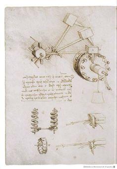 "Biblioteca Nacional de España ""Códices de Leonardo""."