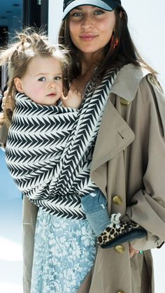 Artipoppe Arrow Thriller - Ready to Wear Collection. Available as Woven Wrap or Ring Sling. shop.artipoppe.com