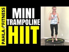 10-20-30 MINI TRAMPOLINE | Sheree's Cardio + Strength REBOUNDER Workout - YouTube