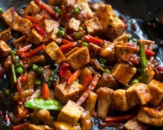 This Tofu Stir-fry looks so yummy! Recipe can be found on Sage and Simple, or just click the picture!