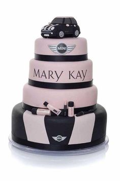 I want this cake when I get my first free car with Mary Kay! cool -- one day I'll be buying this cake for my sister, Sunshine Keyes, Mary Kay Rep! Mary Kay Ash, Logo Mary Kay, Mary Mary, Cupcakes, Cupcake Cakes, Beautiful Cakes, Amazing Cakes, Imagenes Mary Kay, Selling Mary Kay