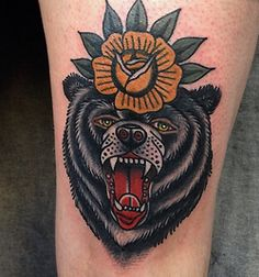 looking for bear tattoo inspiration