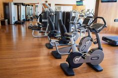 Guests looking to maintain their health and wellness receive the full package of Technogym cardio, strength and functional training products at Sandos Hotel in Cabo San Lucas, Mexico.