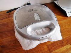 Czyszczenie tostera, gofrownicy - Perfekcyjna w domu