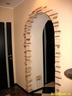 декоративная арка в квартире фото | Дизайн