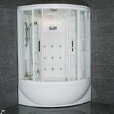 Found it at Wayfair - Steam Shower with Whirlpool Bathtub