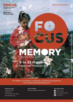 M. will be exhibited during Focus Photography Festival Mumbai in March 2017, theme 'Autobiography as Memory'.