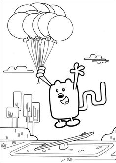 Wow Wubbzy Online Coloring Pages Printable Book For Kids 11