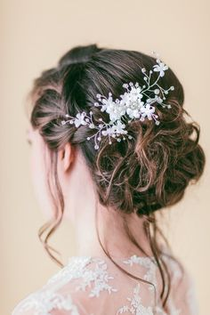 So romantic! #weddinghair {Blooming Beauty by Cammy}