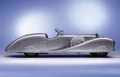 1936 Mercedes-Benz 500K Streamline Roadster by Erdmann and Rossi