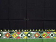 Cotton Blouse fabric with hand embroidery