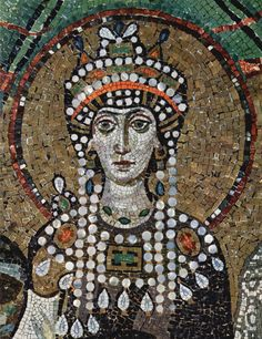 Queen Theodora – (497-548 AD) – the wife of the Byzantine Emperor Justinian I, emperor of the Roman Empire. She was declared a saint by the Orthodox Christian Church and is believed to be the most powerful and influential woman in the history of the Roman Empire.