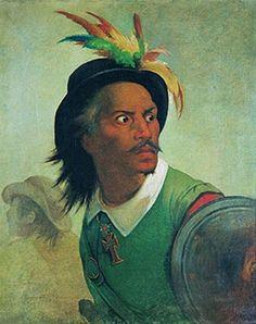 Meirelles, Victor, (1832-1903), Felipe Camarao, 1878, Oil