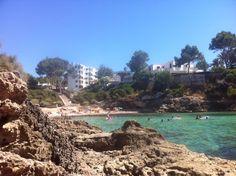 Cala Blava en Llucmajor, Islas Baleares