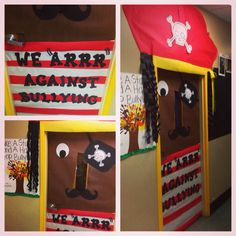 Pirate classroom door idea