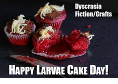 S E Lindberg: National Larvae Cake Day - Monday before Halloween Cake Day, Sword And Sorcery, Horror, Fiction, Halloween, Breakfast, Desserts, Food, Tailgate Desserts