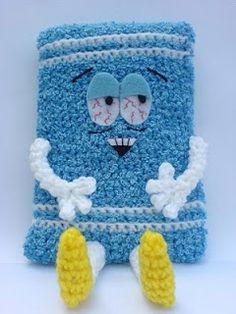 2000 Free Amigurumi Patterns: Free Towel-E Crochet Pattern