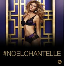 Pinterest Contest: win a Chantelle Paris Opera set! How to participate : 1. Follow the ChantelleParis account on Pinterest 2. Create your #NOELCHANTELLE board 3. Pin Chantelle products and add Christmas pictures 4. Send your board link to mailto:noelchante...