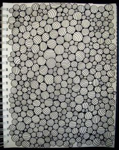 Zentangle - inspiration from Tara Ogdin - find more of her works on Flickr