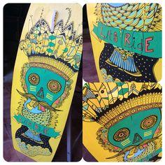 #customboard #wsk8 #posca #freeride @posca