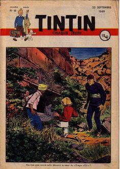Journal de TINTIN édition Française N° 48 du 22 Septembre 1949