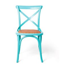 Cafe Colors Dining Chair: I have some old oak chairs from the farm I may try this paint color on.