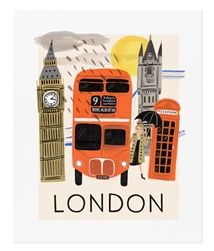 Rifle Paper Co. Travel London prints have arrived at Northlight