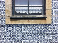 Portuguese tile. Yes let's tile the *outside* of our houses please.