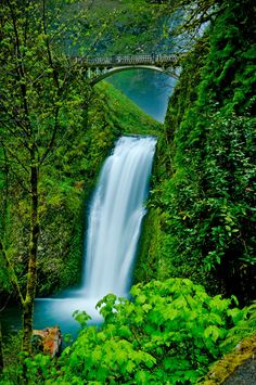 Multnomah Falls, OR by Alex Smith on 500px