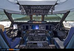 Lockheed C-5B Galaxy Cockpit