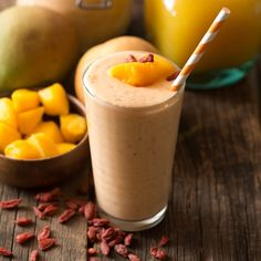 Goji Mango Smoothie with Cardamom Recipe | Frontier Co-op