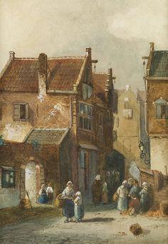 Leickert, Charles Henri 1816-1907)