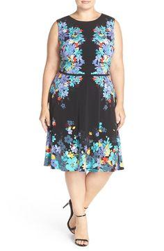 790fb6285a Lauren Ralph Lauren Plus Size Floral-Print V-Neck Dress - Dresses - Plus  Sizes - Macy s