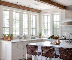tall kitchen windows wettling architects
