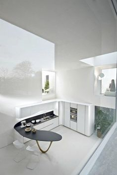 contemporary lacquer kitchen with island code evolution snaidero classic white kitchen