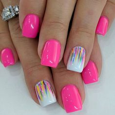 Pure Stevia Centered Sweeteners For Your Overall Health - My Website Classy Nails, Stylish Nails, Fancy Nails, Trendy Nails, Love Nails, Pink Nails, Colorful Nail Designs, Nail Art Designs, Nail Designs Hot Pink